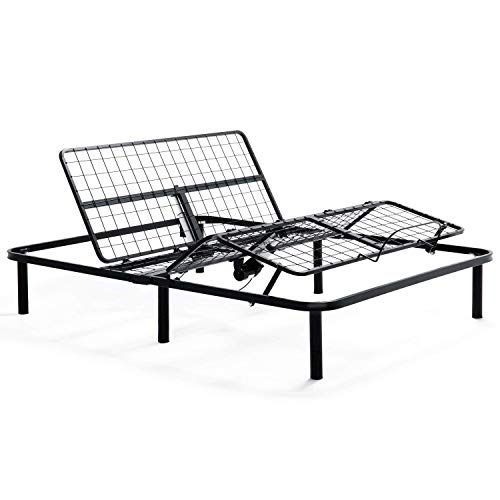 Starsun Depot Twin Xl Heavy Duty Adjustable Bed Frame Base With