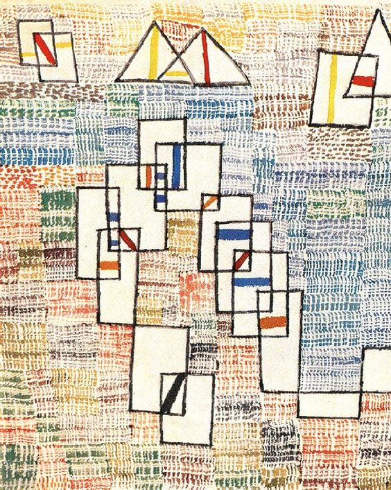 "Estilo ""Arte Abstracto""- Paul Klee, Cote de provence, WikiArt.org"