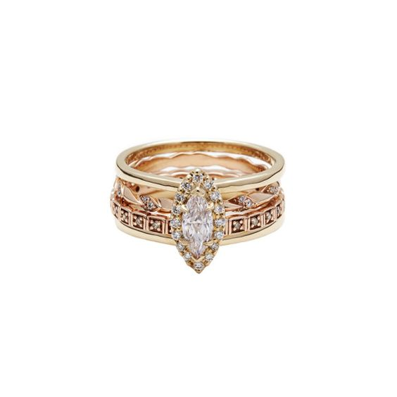 Unique Engagement Rings For The Bohemian Bride | The Zoe Report