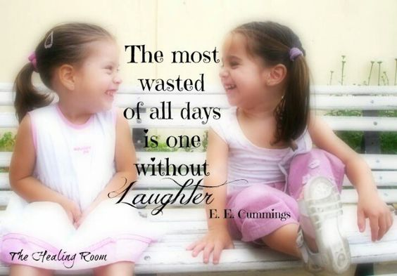 Laughter and smiles