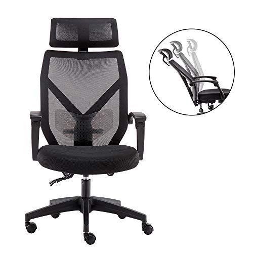 Dripex Chaise De Bureau Ergonomique En Maillesiege De Bureau Pivotantefauteuil Confortable Inclin Chaise Bureau Chaise De Bureau Ergonomique Chaise Ergonomique