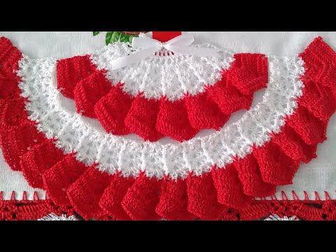 Saia De Croche Para Pano De Prato Parte 1 Youtube Arte Em Croche Panos De Croche Croche Pano De Prato