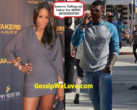 Usher Moves Forward With Custody Battle Against Ex- Wife Tameka Foster!