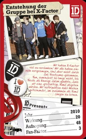 Top Trumps - #One Direction