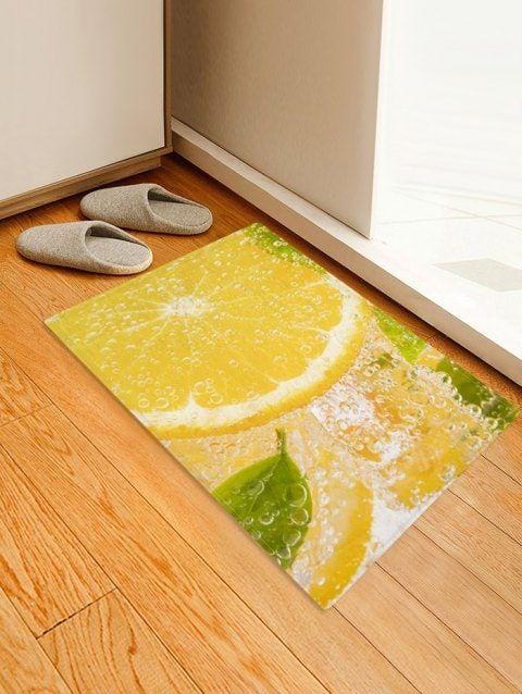 Lemon Water Drink 3d Print Floor Rug Floor Rugs Rugs On Carpet