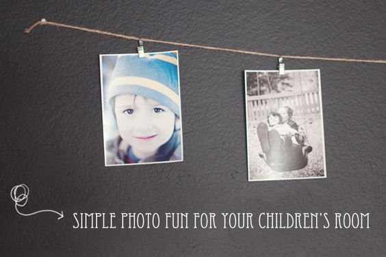 Simple photo fun for your children's room
