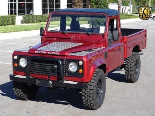 1987 Land Rover Defender Old Trucks For Sale Vintage Classic
