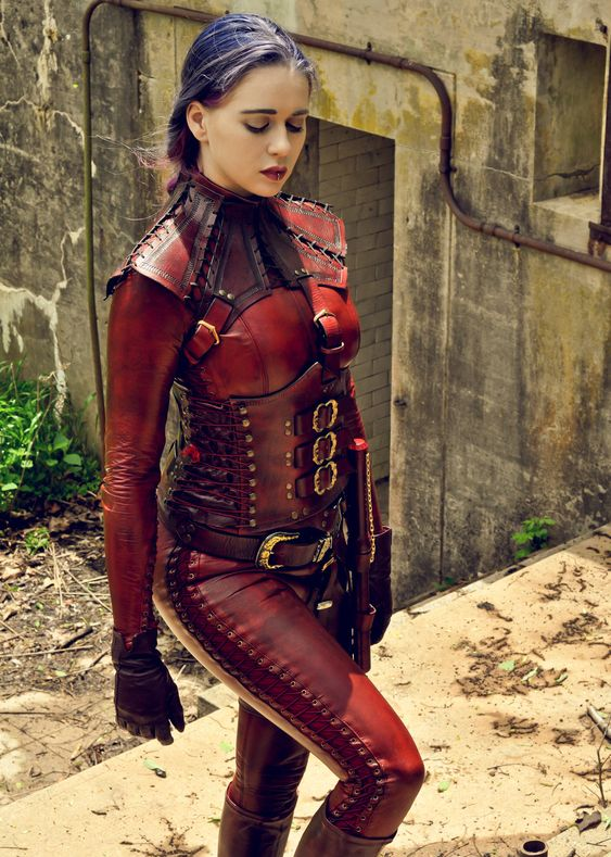 Steampunk Tendencies Photographer: Brother Gus Designer: ANW Leather Model : Chelsea Christian
