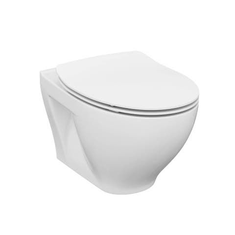 Results For Wall Hung Toilet At Overstock In 2020 Wall Hung Toilet Fixtures Toilet Seat