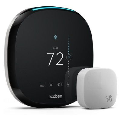 Ecobee Thermostat With Voice Alexa Voice Heating Cooling