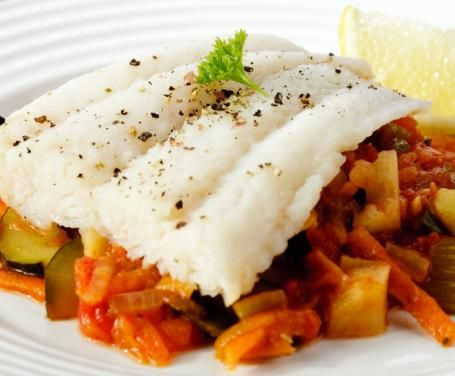 """""""Branzino con Verdura"""" or Sea Bass with Roasted Potatoes & Vegetables - Dining With Darling"""