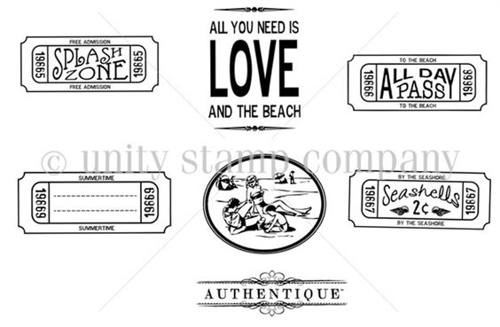 LOVE -  All Day Pass {to the beach}