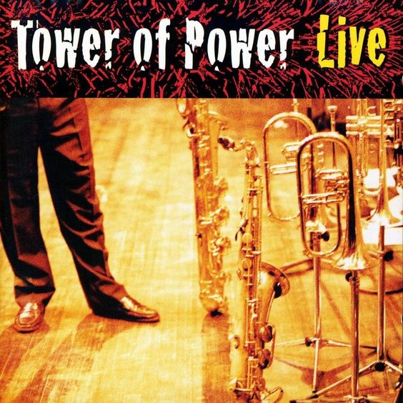 "Tower Of Power ""Soul Vaccination Live"", 1999.  I feel pretty damned safe that this live album is one of the greatest ever.  ToP cannot be beat."