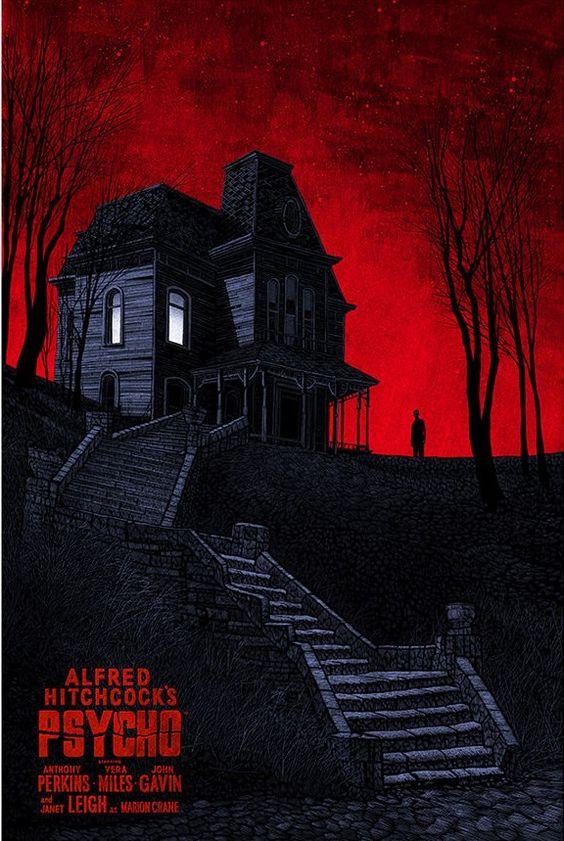 Psycho Alternative Movie Poster