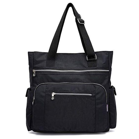 e588bdfbee85 MFEO MULTI POCKET WOMEN S NYLON TOTE WORK BAG. teacher tote bags