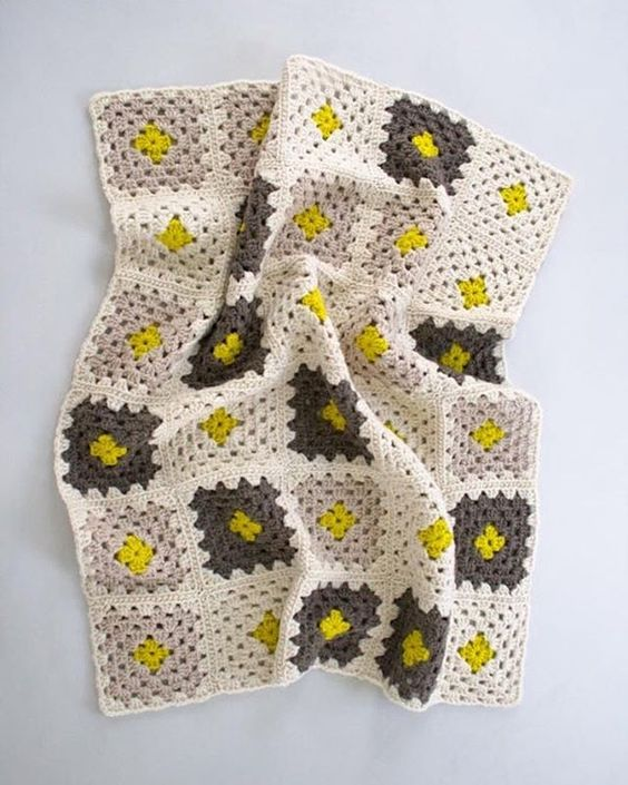 Our Learn to Crochet a Granny Square Blanket Kit for ...