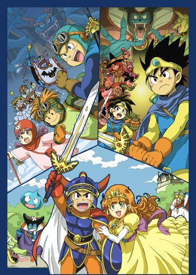 dragon quest 3   Dragon Quest I, II, and III