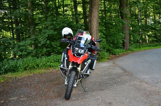 Rest stop near the German/Czech border #R1200GS