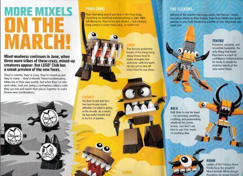 LEGO Club Magazine Mixels | Mixels | Pinterest | Lego club and Lego