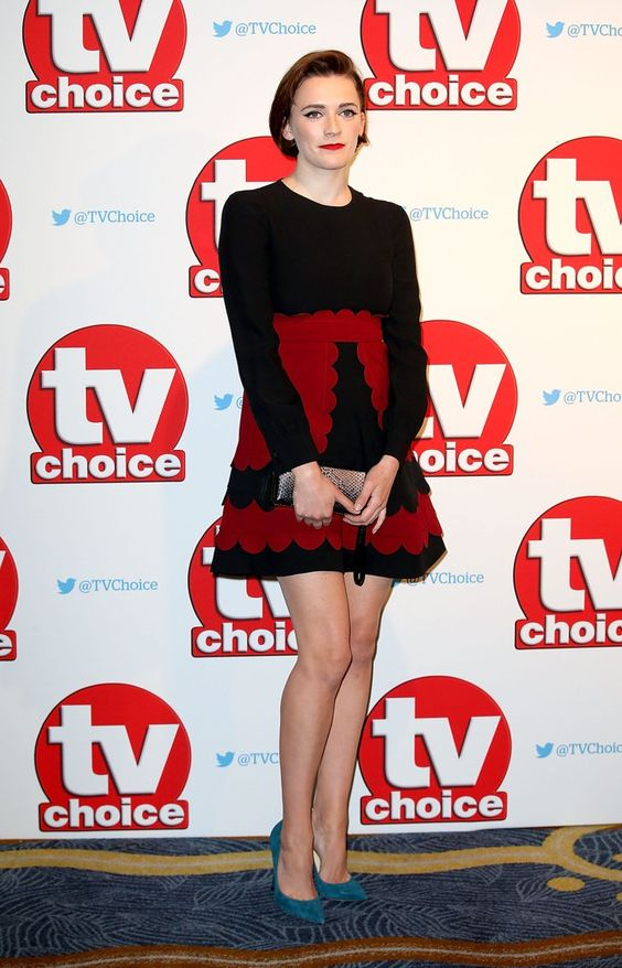 Pin for Later: All the Red Carpet Action From the TV Choice Awards Charlotte Ritchie