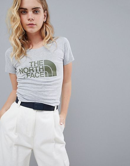 The North Face Women's Easy T-Shirt in Grey