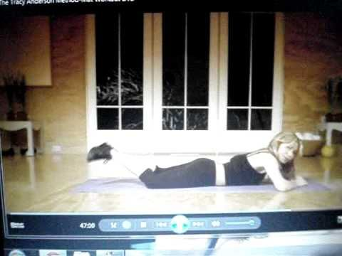 Tracy Anderson Mat Workout PART 5