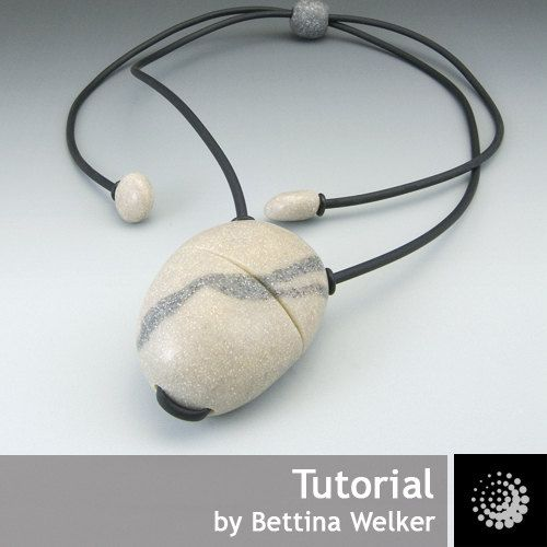 Este tutorial es un extracto de mi primer libro Edle Schmuck-Unikate y accesorios aus arcilla polimérica. El libro está fuera de impresión por un