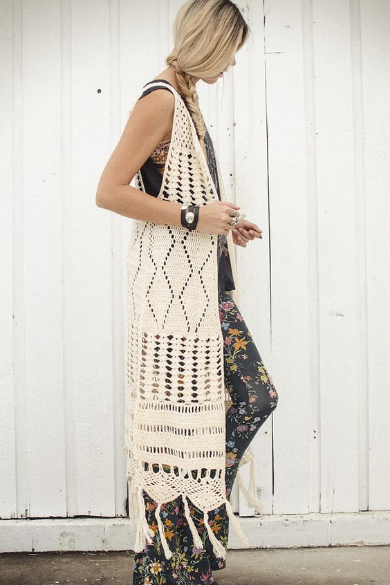 The Crochet Dylan Vest Spell Amp The Gypsy Collective