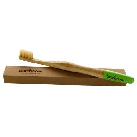 Cepillo De Dientes 100 De Bambu Cepillos De Dientes Bambú Cepillo