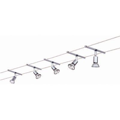 Paulmann Wire 12v 5 Light Track E Salt 105 Complete Systems Set Wayfair Uk