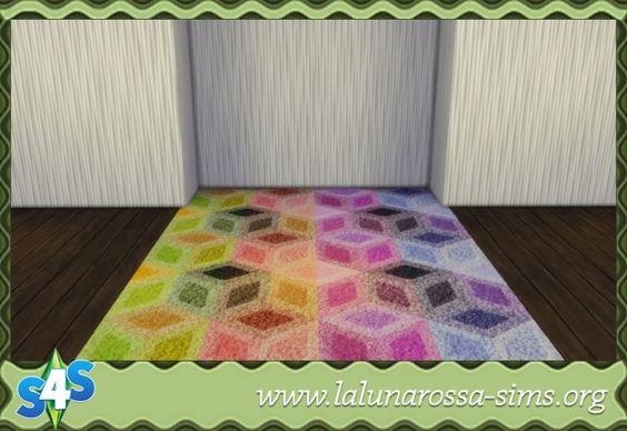 Colorful Carpets at LaLunaRossa • Sims 4 Updates