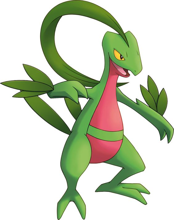 Favorite grass pokemon starter!!!