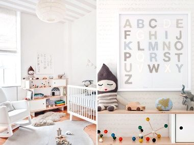 a modern nursery we heart.