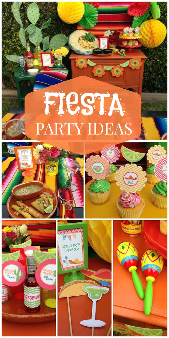 Here is a gorgeous, colorful Mexican fiesta for Cinco de Mayo!  See more party ideas at CatchMyParty.com!: