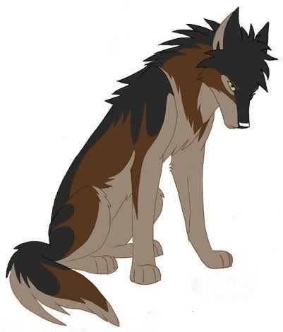 White wolf character sheet