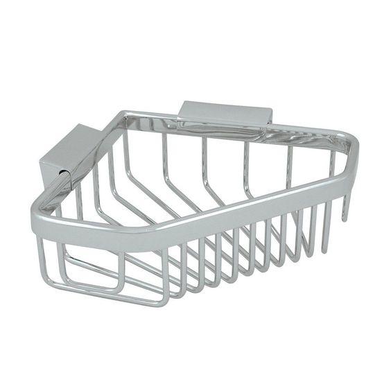 "6"" Corner Pentagon Wire Basket"