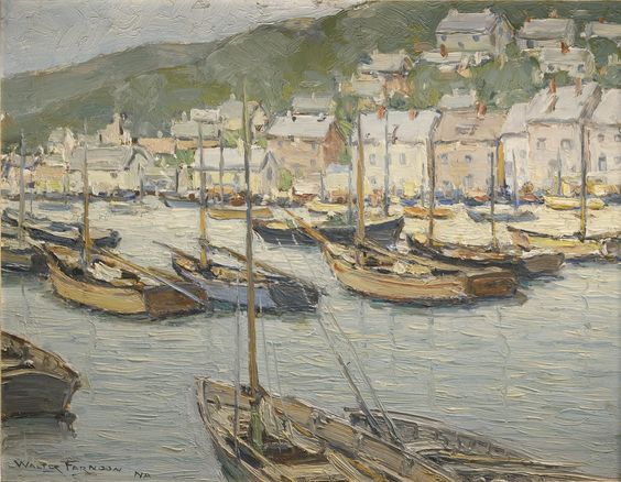 farndon, walter new england harbor | seascape | sotheby's n09484lot8xnxnen: