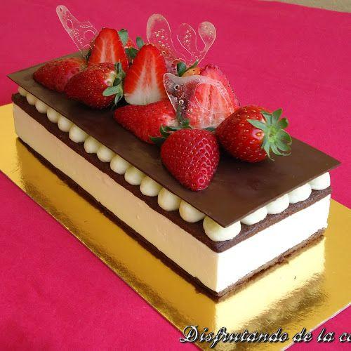 recetas de pasteles finos