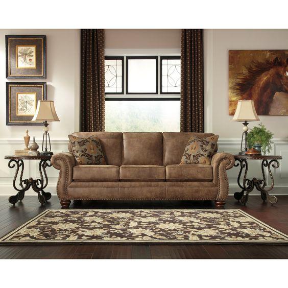 Signature Design By Ashley Larkinhurst Sofa Living Room Sofa