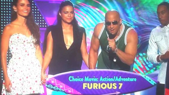 Choice Movie: Action/Adventure Furious 7 <3