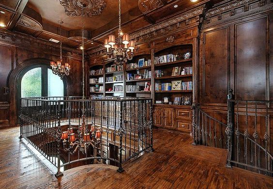 Mansion Home Library Flickr Photo Sharing Interiors