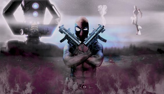 Me as Deadpool! :) Like my Cosplay Facebook page here: www.facebook.com/MutantXCosplay  I'm a digital designer by trade...some of my digital art using me :)