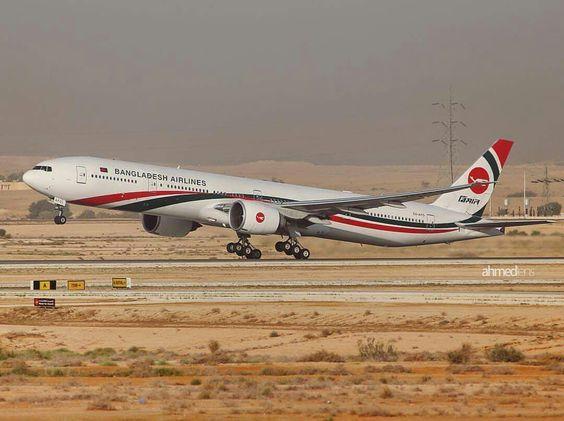 Biman Bangladesh Airlines Boeing 777-300/ER