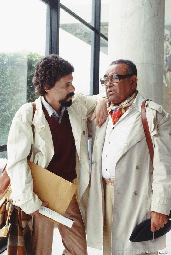 Luiz Gonzaga com seu filho Gonzaguinha: