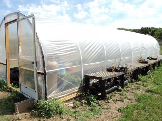 10 foot wide hoop greenhouse