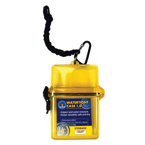 UST Watertight Case 1.0, Yellow (Marine Packaging)
