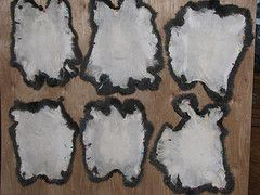 Blog post with info on tanning and sewing rabbit hides.