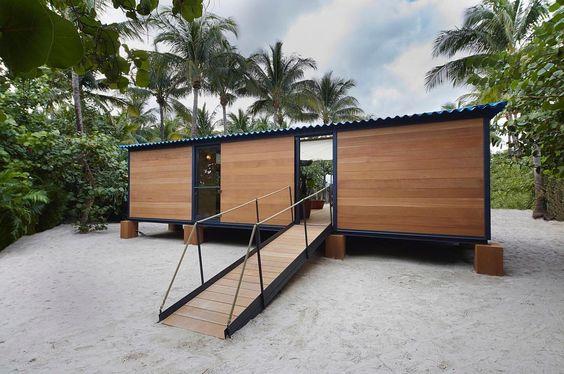 La maison au bord de l'eau in Miami by Charlotte Perriand (3/3) #teamarchi #pin #architecture #architectureporn #archdaily #archilovers #architects