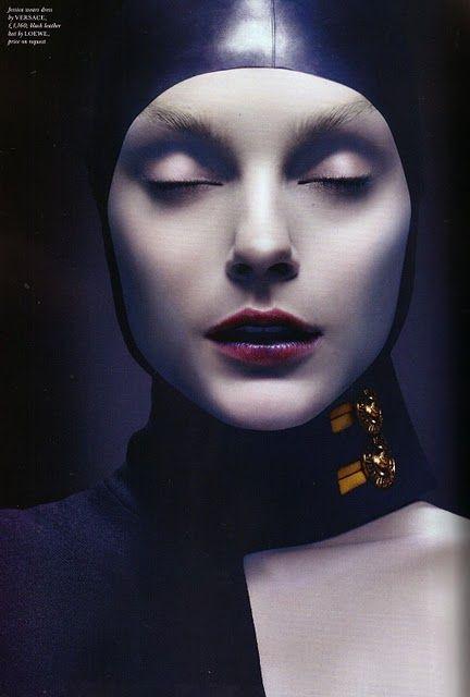 """Jessica Stam by Solve Sundsbo for """"Strangelove"""" in Love Magazine"""