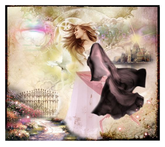 Art Elements Series:  Air Spirit by debpat on Polyvore featuring art: